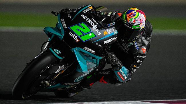 Pembalap tim Petronas Yamaha, Franco Morbidelli, dipastikan absen di MotoGP Belanda 2021, Minggu (27/6), karena cedera lutut.