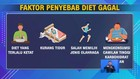 VIDEO: Penyebab Gagal Melakukan Diet