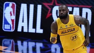 Tim LeBron Menang NBA All Star 2021