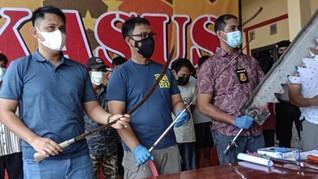 Viral Geng Motor Pamer Celurit di Serang, 10 Orang Ditangkap
