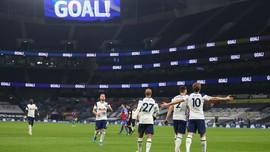 Hasil Liga Inggris: Menang Besar, Spurs Langkahi Liverpool