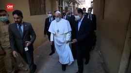 VIDEO: Paus Desak Warga Irak Rangkul Keberagaman