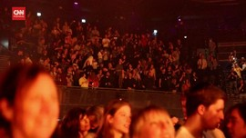 VIDEO: 17 Ribu Orang Nonton Konser Musik di Belanda