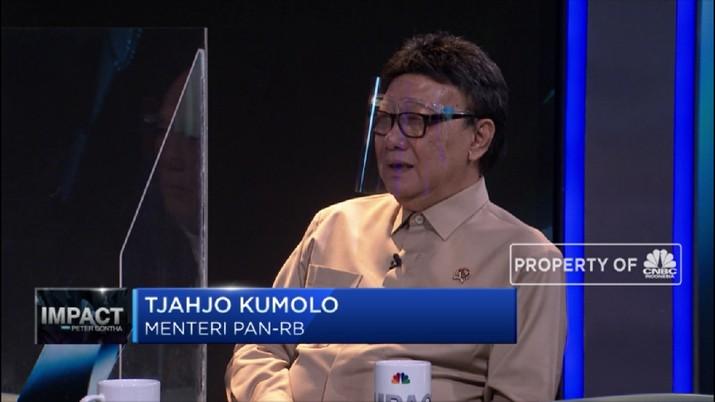Tjahjo Kumolo Bicara Reformasi ASN (CNBC Indonesia TV)
