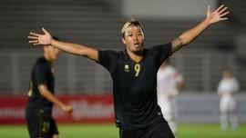 FOTO: Timnas Indonesia U-23 Perkasa Kalahkan Bali United
