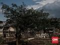 FOTO: Normalisasi Ciliwung Terganjal Pembebasan Lahan