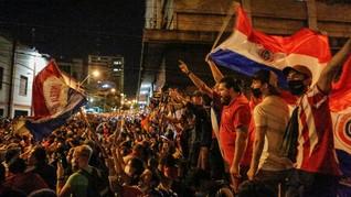 Penanganan Covid Didemo, Presiden Paraguay Reshuffle Kabinet