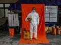 FOTO: Potret Relawan Pandemi Covid-19 Yogya