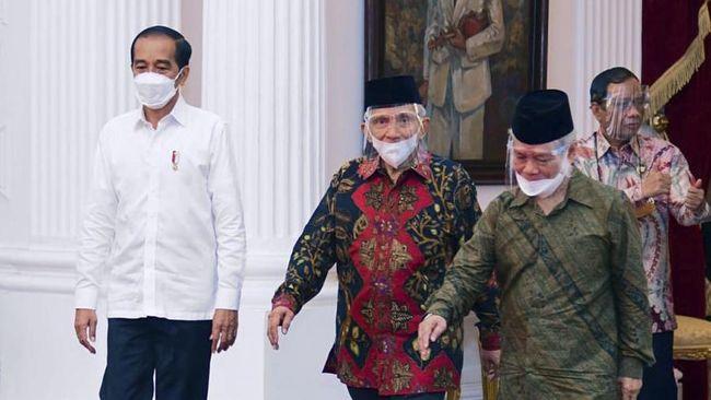 Ketua TP3 6 Laskar FPI Abdullah Hehamahua mengklaim tak bermaksud menyamakan Presiden Jokowi sebagai Firaun terkait perjumpaan timnya di Istana.