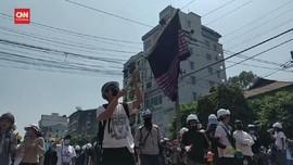VIDEO: Beritakan Unjuk Rasa, 5 Media Myanmar Dicabut Ijinnya