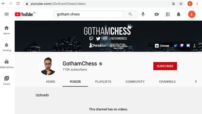 Akun Youtube Gotham Chess hingga hari ini masih tak bisa diakses lantaran diduga memblokir penonton asal Indonesia di akunnya itu.