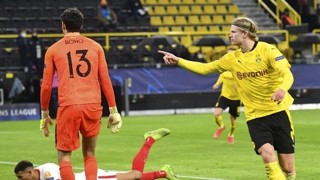 Dortmund vs Man City: Haaland Nol Gol di Perempat Final