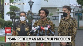 VIDEO: Insan Perfilman Menemui Presiden