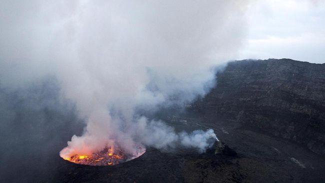 Letusan berapi Gunung Nyiragongo kali ini mirip dengan letusan yang terjadi pada 2002