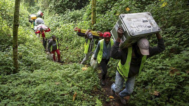 Kongo merupakan penghasil coltan terbesar di dunia. Tahun lalu, produksinya mencapai 670 metrik ton.