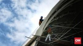 FOTO: Proyek Pembangunan LRT Kejar Target 2021