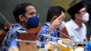 Nadiem: Vaksinasi Covid Guru Tuntas, Sekolah Wajib Tatap Muka