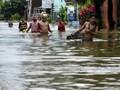 Banjir Rendam Rumah 65 Keluarga di Tapin Kalimantan Selatan