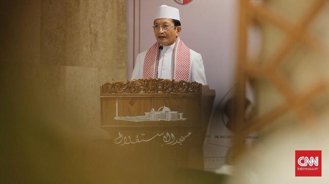 Nasaruddin Umar Respons Lampu Warna-warni Masjid Istiqlal