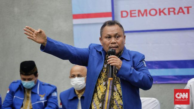 Jhoni Allen Marbun turut menggugat AHY membayar ganti rugi sebesar Rp55,8 miliar atas perkara pemecatan dirinya sebagai kader Partai Demokrat.