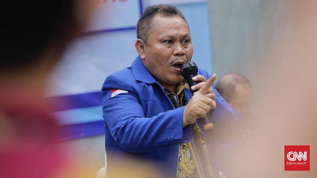 Demokrat sudah mengirim surat pemberhentian Jhoni Allen Marbun dari anggota fraksi di DPR kepada pimpinan parlemen.