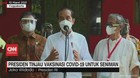 VIDEO: Jokowi Tinjau Vaksinasi Covid-19 untuk Seniman