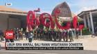 VIDEO; Libur Isra Mikraj, Bali Ramai Wisatawan Domestik