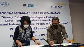 Mandiri Dukung Agro Solution Pupuk Indonesia Via Akses Modal