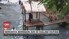 VIDEO: Serunya Bermain Air di Dalam Hutan