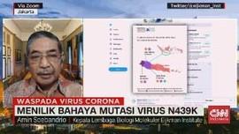 VIDEO: Eijkman: Ada 48 Kasus Virus Mutasi N439K di Indonesia