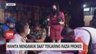 VIDEO: Wanita Mengamuk Saat Terjaring Razia Prokes