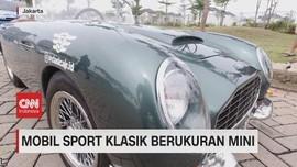 VIDEO: Mobil Sport Klasik Berukuran Mini