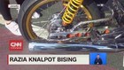 VIDEO: Razia Knalpot Bising di Jakarta