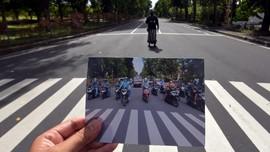 FOTO: Sunyi Nyepi di Pulau Dewata