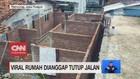 VIDEO: Viral Rumah Dianggap Tutup Jalan