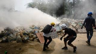 Buntut Demo Berdarah, AS Tangguhkan Perjanjian Dagang Myanmar