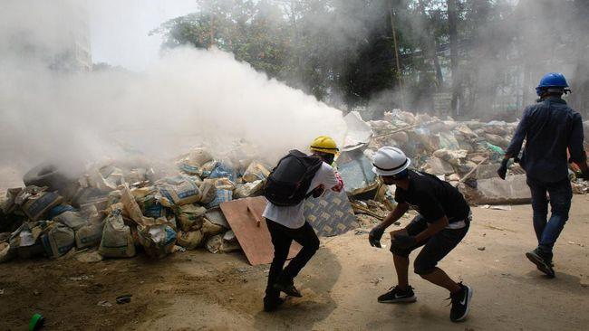 Pemerintah AS mengutuk aksi kekerasan yang dilakukan oleh junta militer Myanmar terhadap warga sipil pada akhir pekan lalu.
