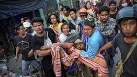 Empat Bulan Kudeta Myanmar, Korban Tewas Capai 842 Jiwa