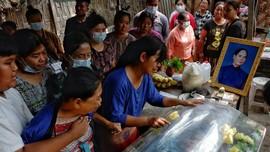 114 Pedemo Myanmar Termasuk Anak-anak Tewas dalam Sehari