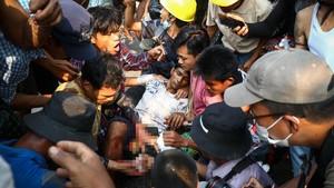 Bom Waktu Krisis Myanmar