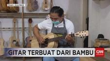 VIDEO: Gitar dari Bambu Karya Pengajar Seni