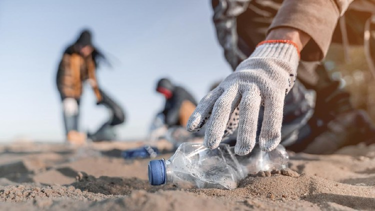 Cleaning,Ecology, Social Issues, Volunteer, Beach