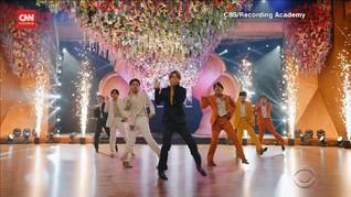 VIDEO: Penampilan Memukau BTS Meski Gagal Sabet Grammy
