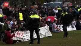 VIDEO: Bentrokan Massa Anti Lockdown Dan Polisi Di Belanda