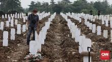 Rangkuman Covid: 247 Tambahan Kasus Kematian, 12 Zona Merah