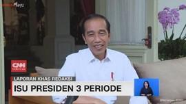 VIDEO: Jokowi Jawab Isu Presiden 3 Periode