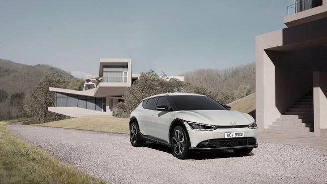 EV6 adalah mobil listrik perdana yang bakal rilis pada Maret, satu dari 11 mobil listrik yang dijanjikan perusahaan tersedia pada 2026.