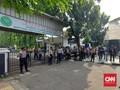 Sidang Rizieq Ditunda, Massa di PN Jaktim Bubar