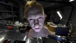 FOTO: Kulit Buatan Dipasang di Robot Humanoid Rusia