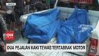 VIDEO: Dua Pejalan Kaki Tewas Tertabrak Motor
